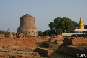 Dhame Stupa in Sarnath