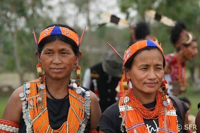 Frauen aus Indien nackt