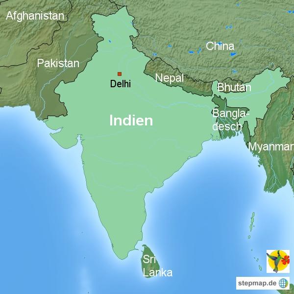 indien karte Indien Landesinformationen und Wissenswertes zu Indien